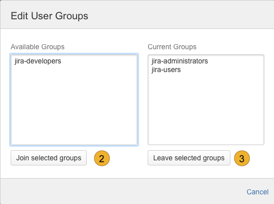 edit user groups in english language