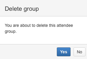 AgileMinutes - deleting empty attendee groups