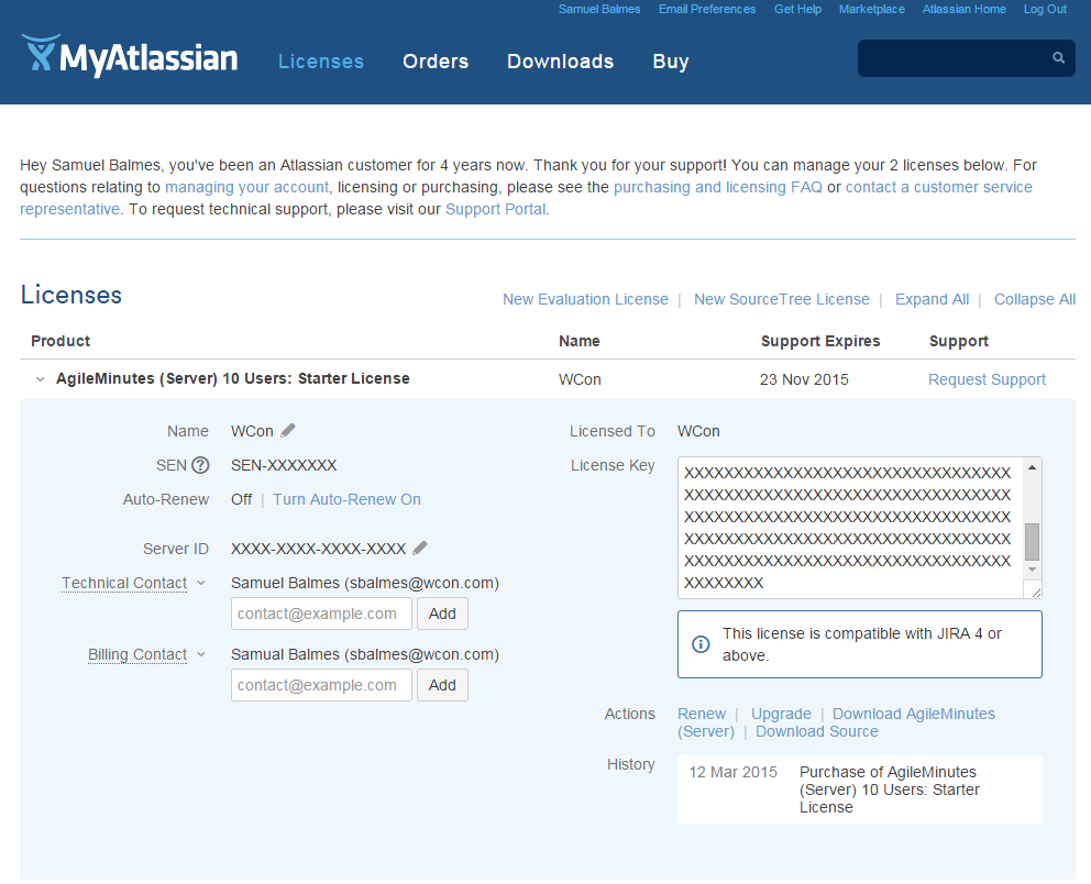 Installation of AgileMinutes via Atlassian Marketplace