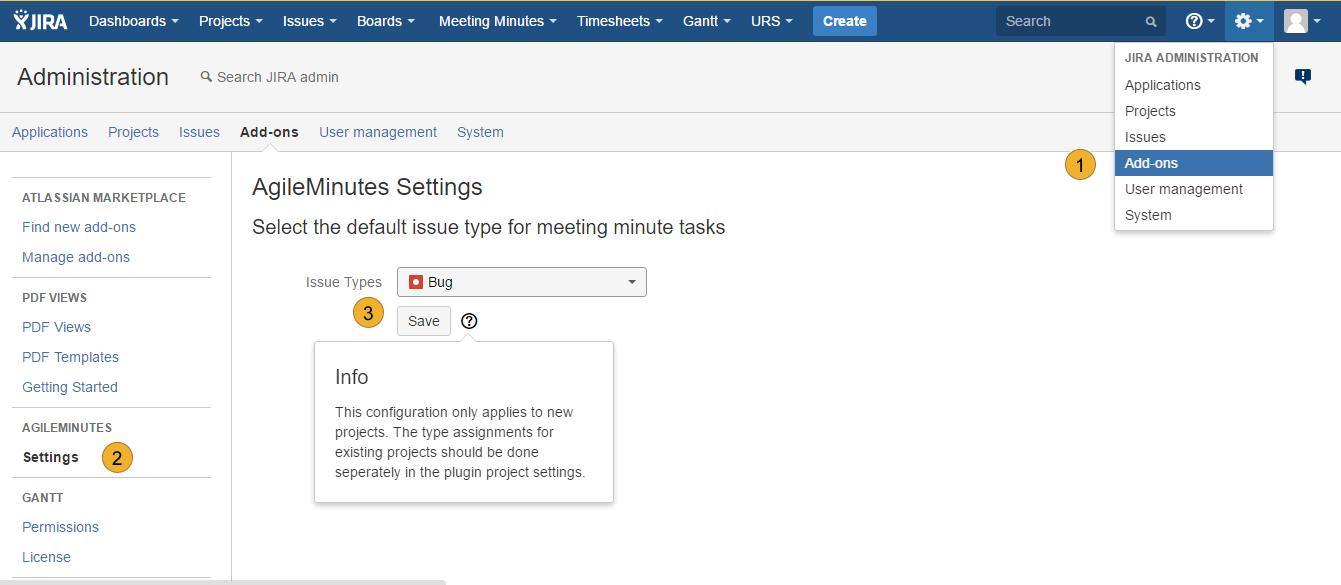 Atlassian JIRA - Benutzerverwaltung - Projektrollen für Benutzer