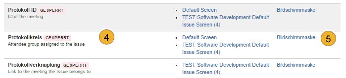 AgileMinutes - Referenzen hinzufügen - Felder hinzufügen)